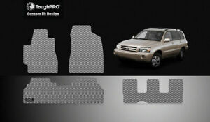 Toughpro Floor Mats 3rd Row Gray For Toyota Highlander All Weather 2001 2007