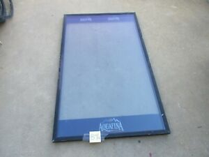 Used Glass Front Door Nice Cond For Dixie narco Dn 5591 Soda Machine