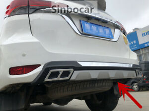 Car Styling Rear Bumper Protector Board Guard For Toyota Fortuner 2016 2019 New