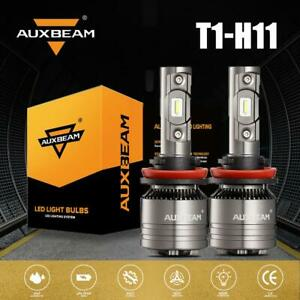 Auxbeam Auto Parts H11 Led Bulb Headlight Super Bright Hid Beam 6500k