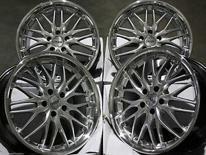 Alloy Wheels X 4 19 Silver 190 For Honda Accord Civic Cr V Crz Hr V 5x114