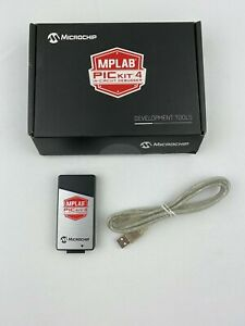 Microchip Mplab Pic Kit 4 In cicruit Debugger Programmer