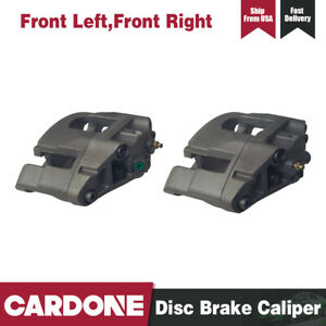 Cardone 2 Pcs Front Left Right Disc Brake Calipers For 2004 2009 Audi S4