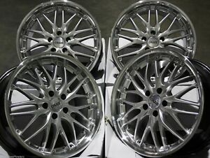Alloy Wheels X 4 19 Silver P 190 For Honda Accord Civic Cr V Crz Hr V 5x114