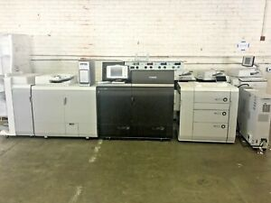 Canon Ip Color C8000 Vp Copier W Booklet Large Pdk B4000 Fiery Low Meter