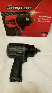 Brand New Snap On Metallic Grey 1 2dr Air Impact Gun Pt850