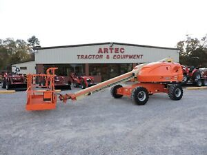2008 Jlg 400s Boom Lift 40 Straight Reach Watch Video Only 2461 Hours