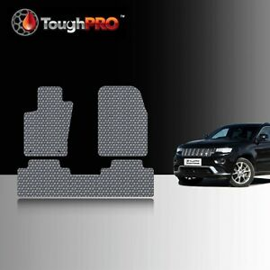 Toughpro Floor Mats Gray For Jeep Grand Cherokee All Weather 2011 2020
