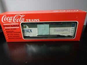 NEW IN BOX~ K-LINE COCA-COLA TRAINS FRESCA SODA POP BOX CAR K-648202 ~ NOS