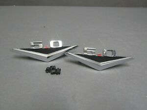 Ford 5 0 Fender Emblems 65 66 Mustang 64 65 Falcon 64 Fairlane