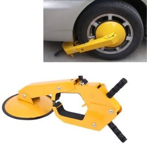 Wheel Lock Clamp Boot Tire Claw Auto Car Truck Rv Boat Anti theft Towing