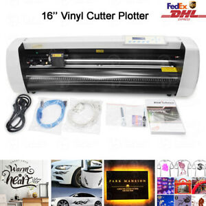 16 Vinyl Cutter Plotter Sign Cutting Machine Sign Maker Diy Decoration software
