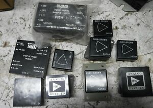 Assorted Burr brown Ddc Analog Devices Items One Lot Free Shipping