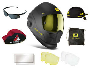 Esab Sentinel A50 Automatic Welding Helmet 0700000800 With Free Accessories