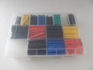 580 Pcs Premium Quality Heat Shrink Tube Multi Colors Tubing Set New