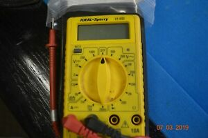Ideal Sperry 61 603 Digital Multimeter