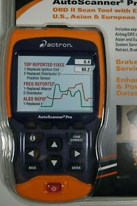 Actron Cp9695 Autoscanner Pro Obd Ii Scan Tool Codeconnect Abs Airbag Coverage