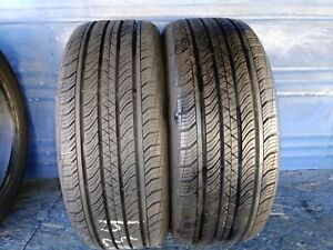 2 Continental Pro Contact 225 50 17 Audi With 9 9 25 32nd Tread Left 94 H