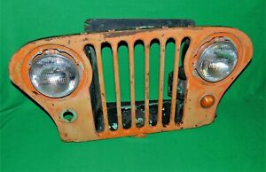 1945 1946 1947 1948 1949 Willys Ford Kaiser Jeep Grill M38 M38a1 7 Slot Grill