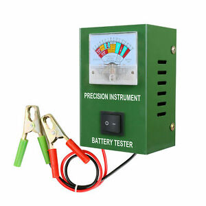 Battery Load Tester 6v 12v 16v Engine 2 250amp Quickly Tests Within 5s Bt 50