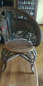 Antique1800 S Victorian Heywood Wakefield Or Glouster Mass Chair Not Sure
