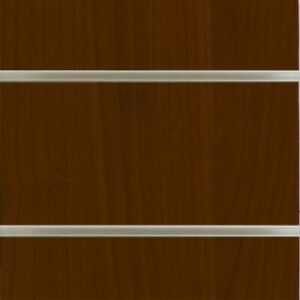 48 X 96 Slatwall Mdf Panels 6 Groove With Aluminum Extention Cherry Melamine