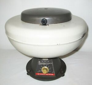 Made In The Usa Iec Cl Centrifuge 4 Place Swing Rotor 4 50ml Shields 3 500 Rpm