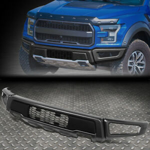 For 15 18 Ford F150 Heavy Duty Steel Front Lower Bumper Face Bar Raptor Style
