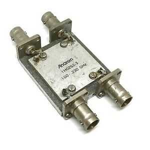 160 230mhz 3db Rf Directional Coupler Military 1h0262 3 Anaren