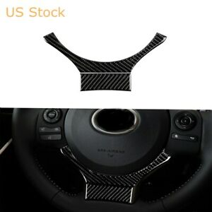 Carbon Fiber Steering Wheel Sticker Trim For Lexus Is250 Is300 Is350 2014 2017