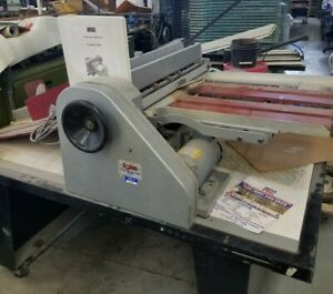 Rollem Champion 990 Semi Slitter Perforator Used Good Working Condition