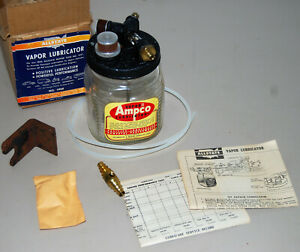 Nos1940 50 s Chevy Ford Mopar Ampco Allstate Vapor Oiler Lubricator In Box