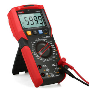 Mini Digital Multimeter 6000 Counts True Rms Lcd Voltage Current Resistance T2m1