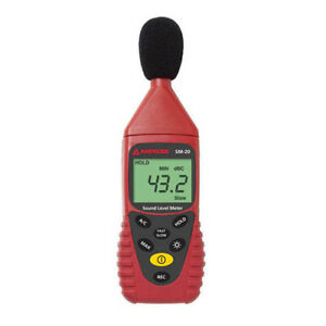 Amprobe Sm20a Sound Level Datalogging Meter With Usb And Pc Software