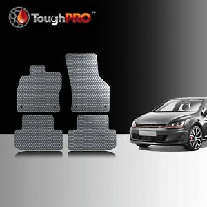 Toughpro Floor Mats Gray For Volkswagen Golf Gti All Weather 2015 2020