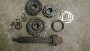 John Deere 420 Crawler Complete Pinnion Shaft And Gear Set