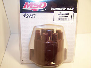 Msd Distributor Cap 8437 V8 Chevy Points Style Extra Duty High Pefrormance Used