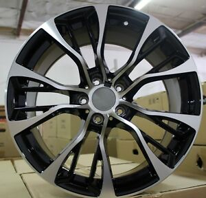 20 Inch Rims Fit Bmw X6m X6 X5m X5 Rims M Sport Machined Staggered Wheels