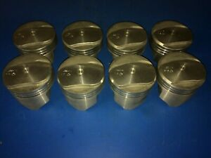 Chevy 396 Trw Forged Dome Top Pistons L2240nf Usa Made Bbc Speed Pro