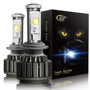 Cougar Motor H1 60w Led Headlight Bulbs All in one Conversion Kit 7200 Lumen 60