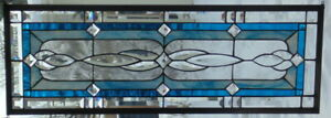 Stained Glass Window Transom Or Sidelight Hanging 36 3 4 X 13 1 2