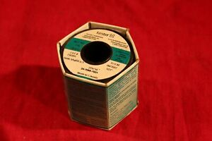 1 Spool Of Kester Solder Solid Wire Sn96 5ag03cu 5 031 Dia 1lb Lead Free