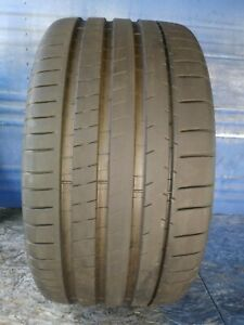 1 Michelin Pilot Super Sport 295 30 Zr22 With 9 5 32nd Tread Left 103 Y