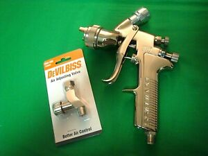 Devilbiss Gti 620 Millenium 1 3 Pristine Spray Gun New Air Adjusting Valve