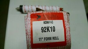 Kompac Multi 1250 Chief 17 Water Form Roller 92410 92k10 Syntac New
