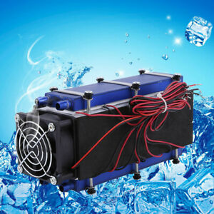 12v Dc Thermoelectric Peltier Refrigeration Diy Cooling System Cooler Device