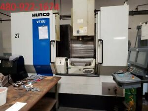 2012 Hurco Vtxu 5 Axis Cnc Vertical Machining Center Vmc Mill Ref 8068205