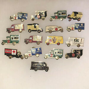 17 Various Coca Cola Olympic Truck Pins!