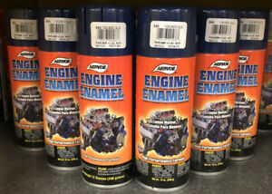 Aervoe Engine Enamel High Heat Paint 566 Ford Merc Blue 1 Case Of 6 12 Oz Cans
