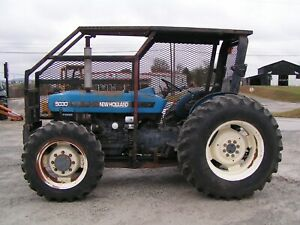 5030 Ford New Holland Farm Tractor 4x4 With Forestry Package 65 Hp